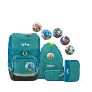 ergobag cubo 5-teiliges Set