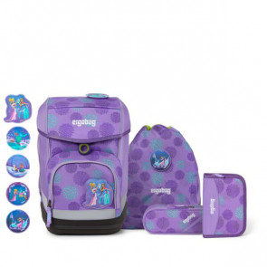 ergobag cubo 5-tlg.Set GLOW Edition