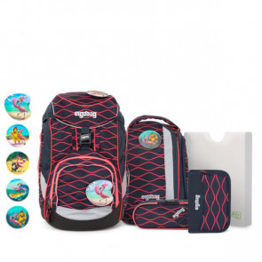 ergobag pack 6-tlg.Set LUMI Edition