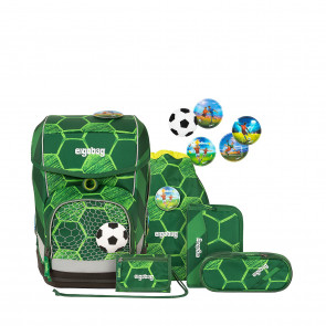 ergobag cubo 6-tlg.Set ECO HERO Edition