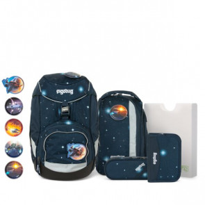ergobag pack 6-tlg.Set GLOW Edition