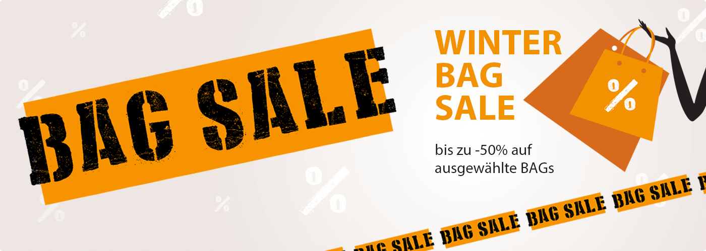 Winter Sale bei BAG STORE